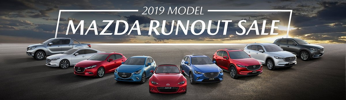 2019 Model Mazda Runout Sale is on Now! Large Image
