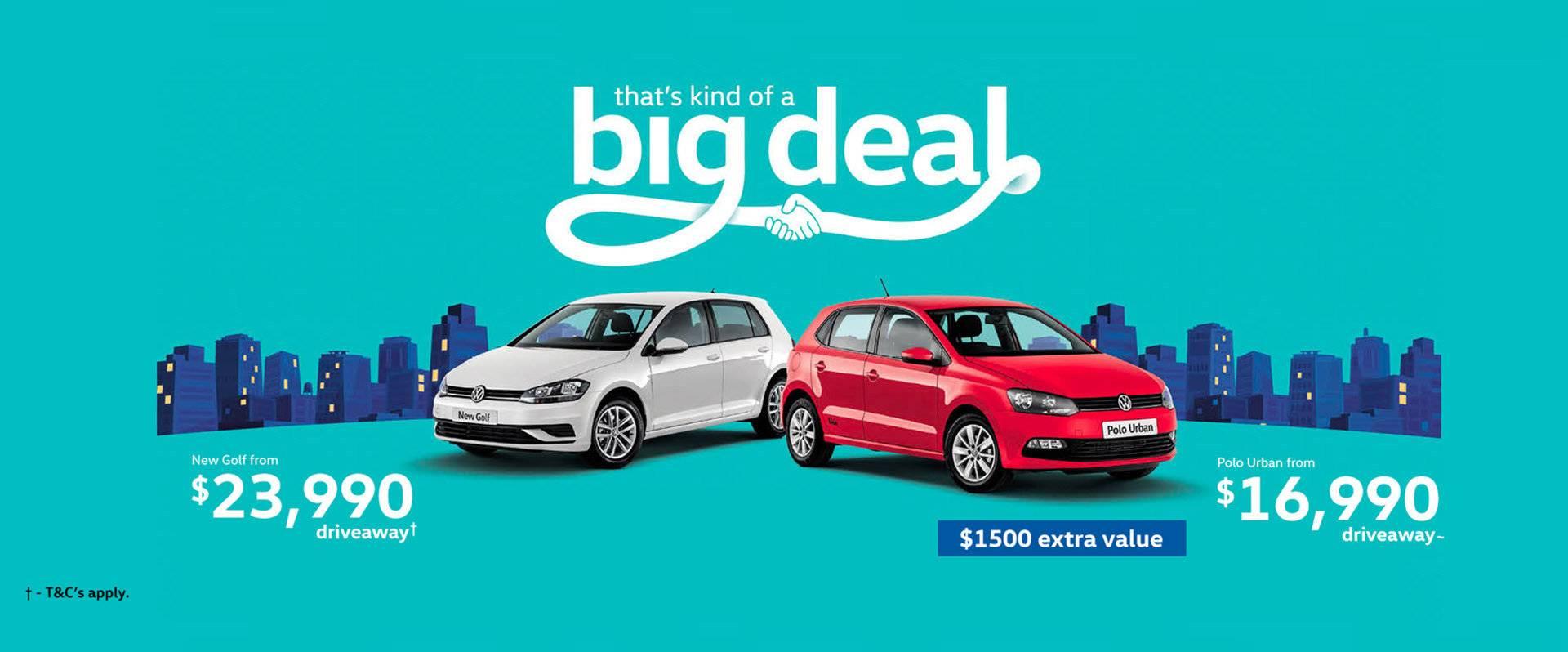Volkswagen Offers
