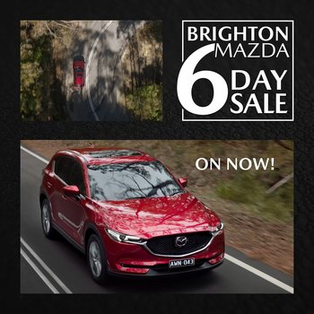 6 Day Sale is on now at Brighton Mazda  Small Image