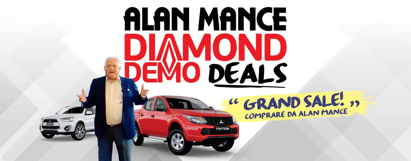 Alan Mance Mitsubishi Diamond Deals