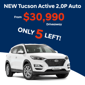 NEW Tucson Active 2.0P Auto  Small Image
