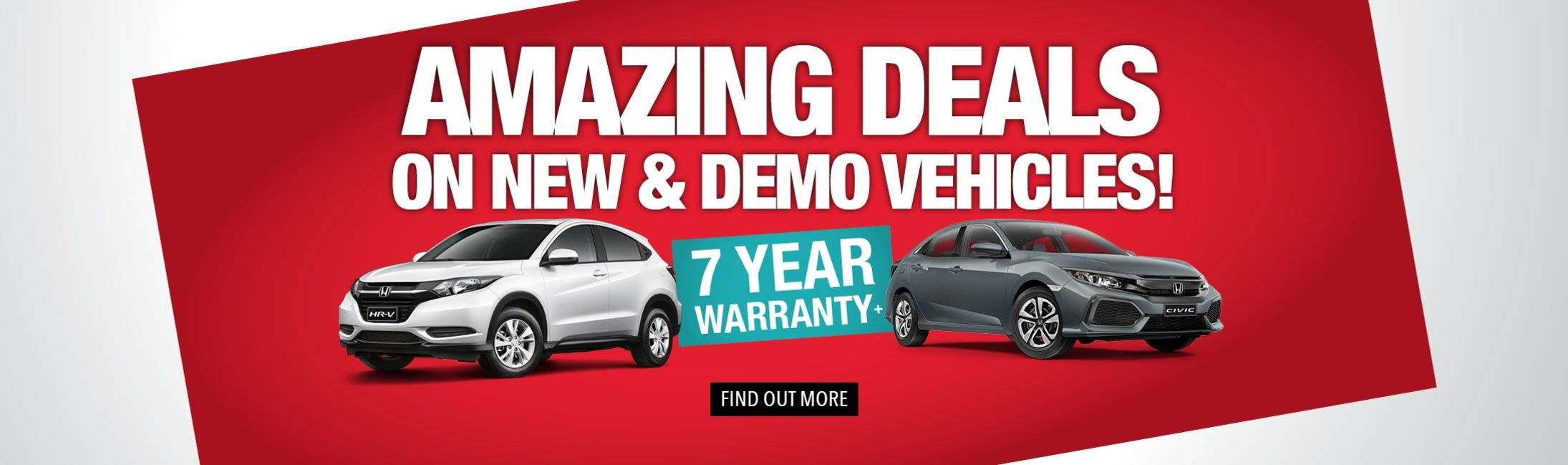 AMAZING DEALS ON NEW AND DEMO VEHICLES