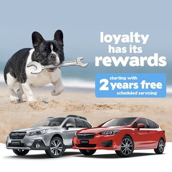 Free 2 Years Scheduled Servicing – Impreza & Outback Small Image