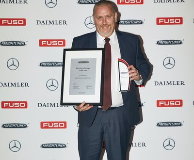 WINNER Freightliner Parts Manager of the Year  image