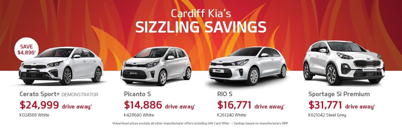 Cardiff Kia Sizzling Savings