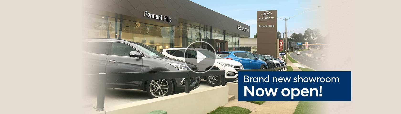 Pennant Hills Brand New Showroom