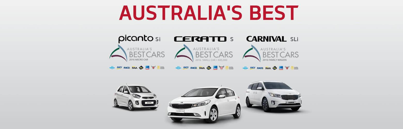 Kia - Australia's Best Car