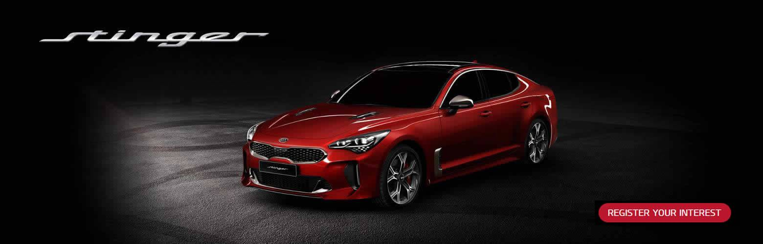 All-New Kia Stinger RYI