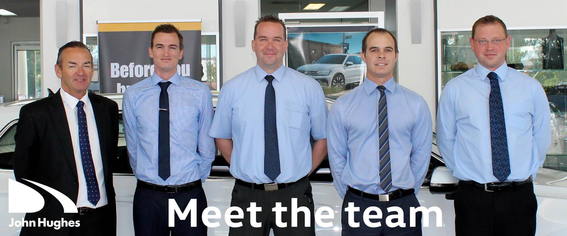 John Hughes Volkswagen - Meet The Team