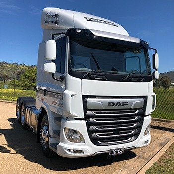 DAF CF530 ready for rental and lease