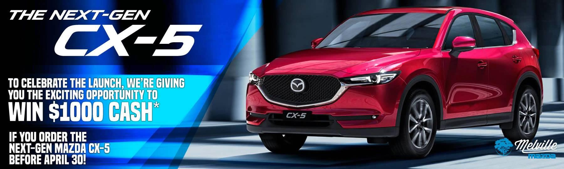 Melville Mazda Next Gen CX-5
