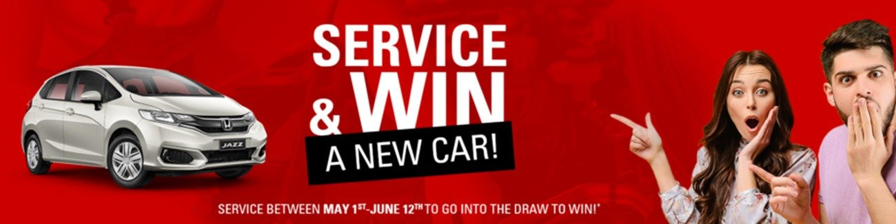 Honda Service & Win - Ends June 12th