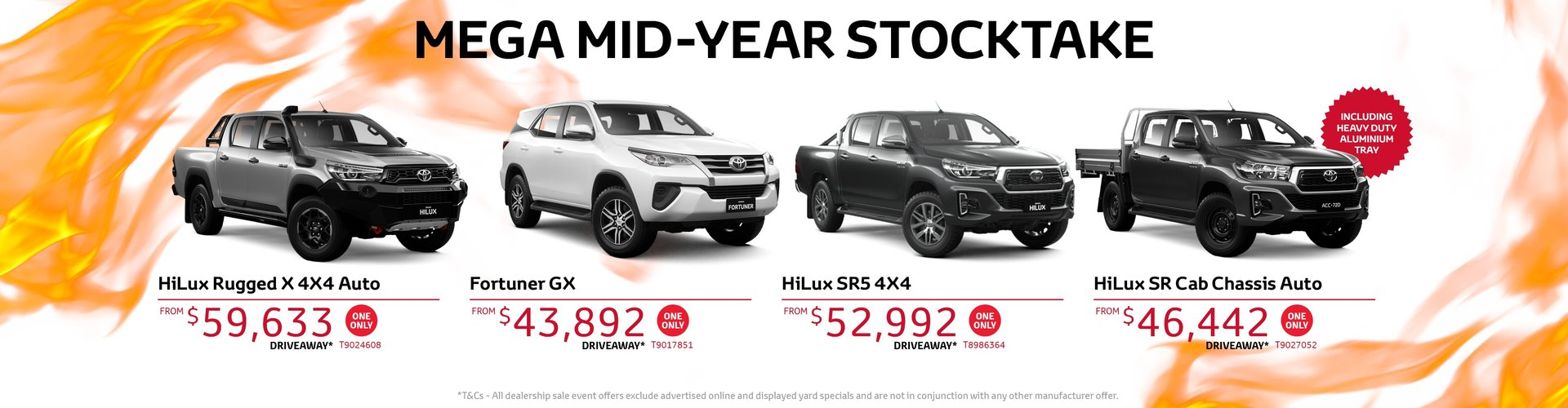 Cardiff Toyota Stock Clearance