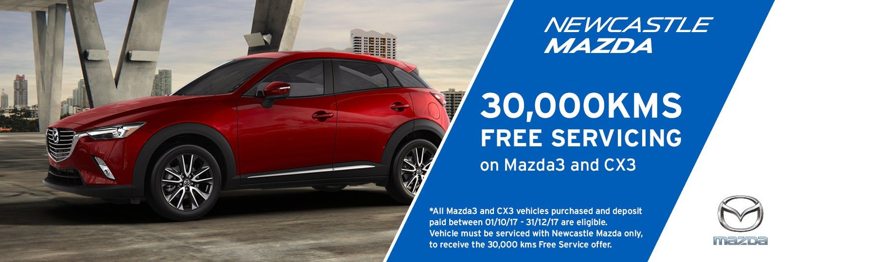 Newcastle Mazda - SERVICE OFFER