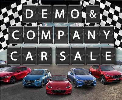 Biggest Ever Demo & Company Car Sale This Saturday!  image