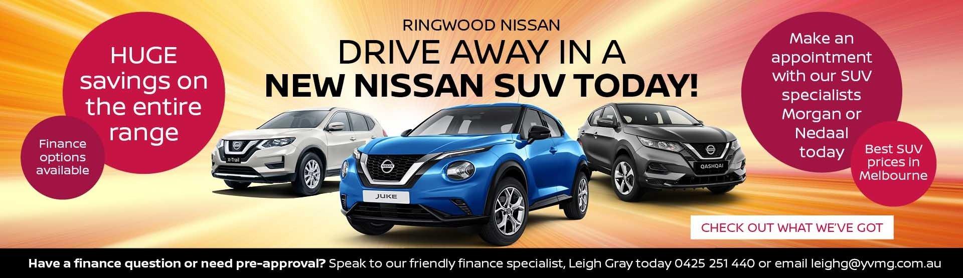 Ringwood Nissan Banner