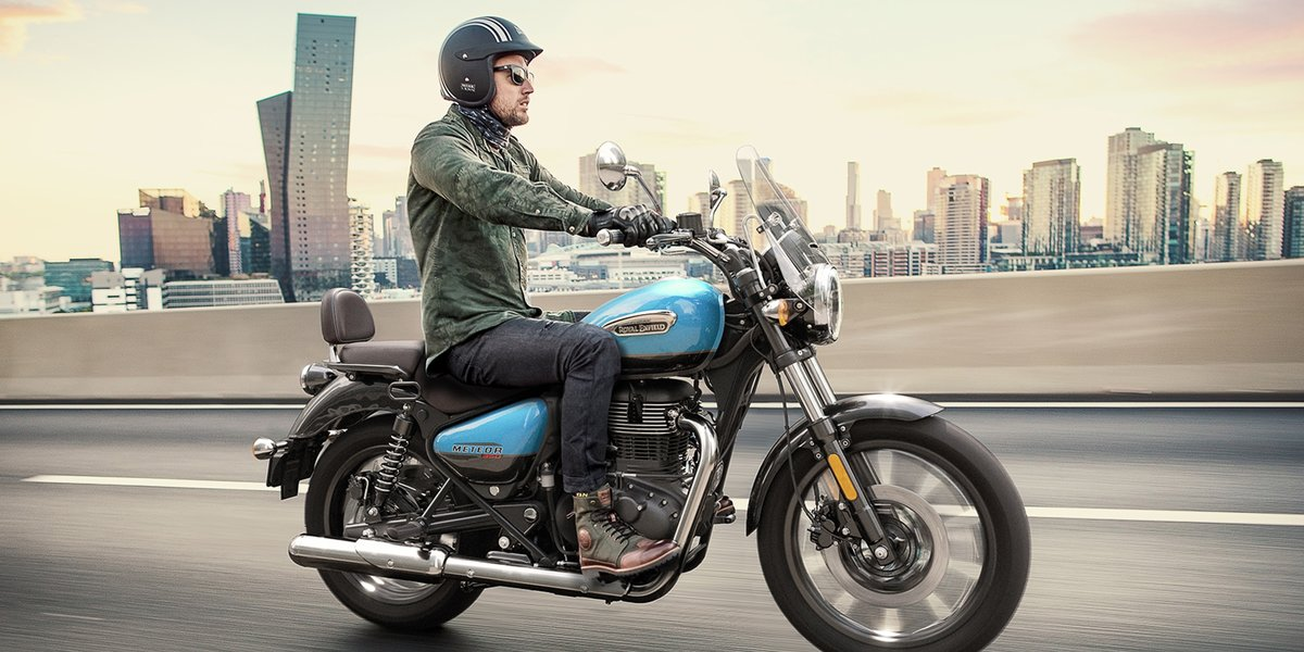 blog large image - New Royal Enfield Meteor 350 - Available Now