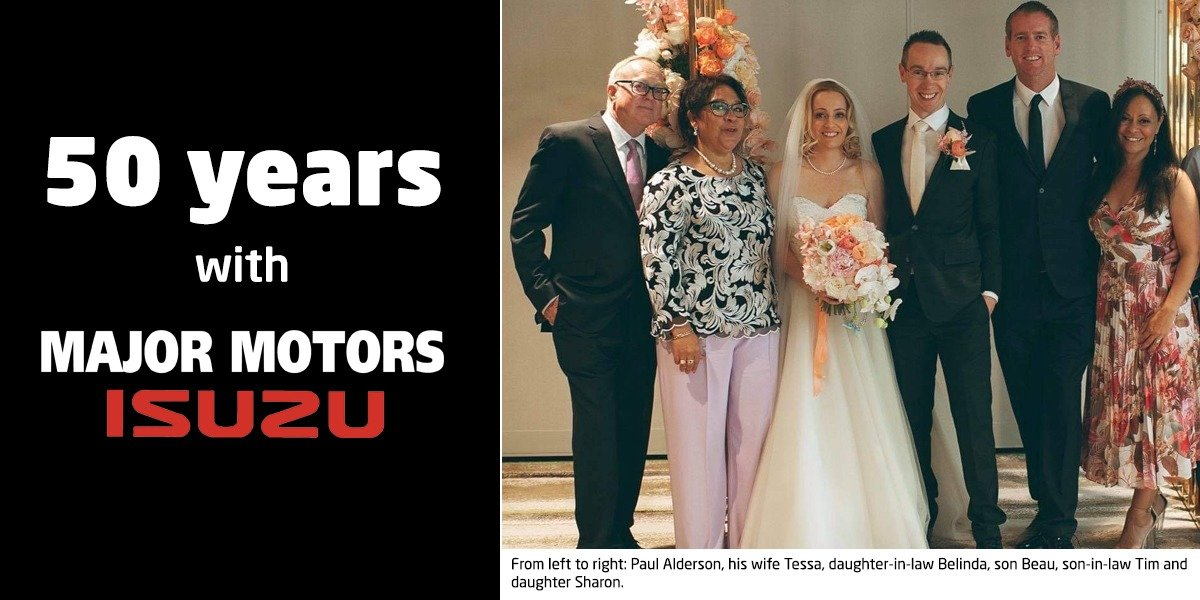 blog large image - Paul Alderson - 50 Years at Major Motors!