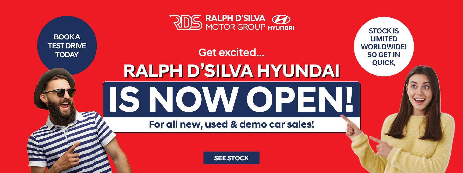 RDS Hyundai | We are open
