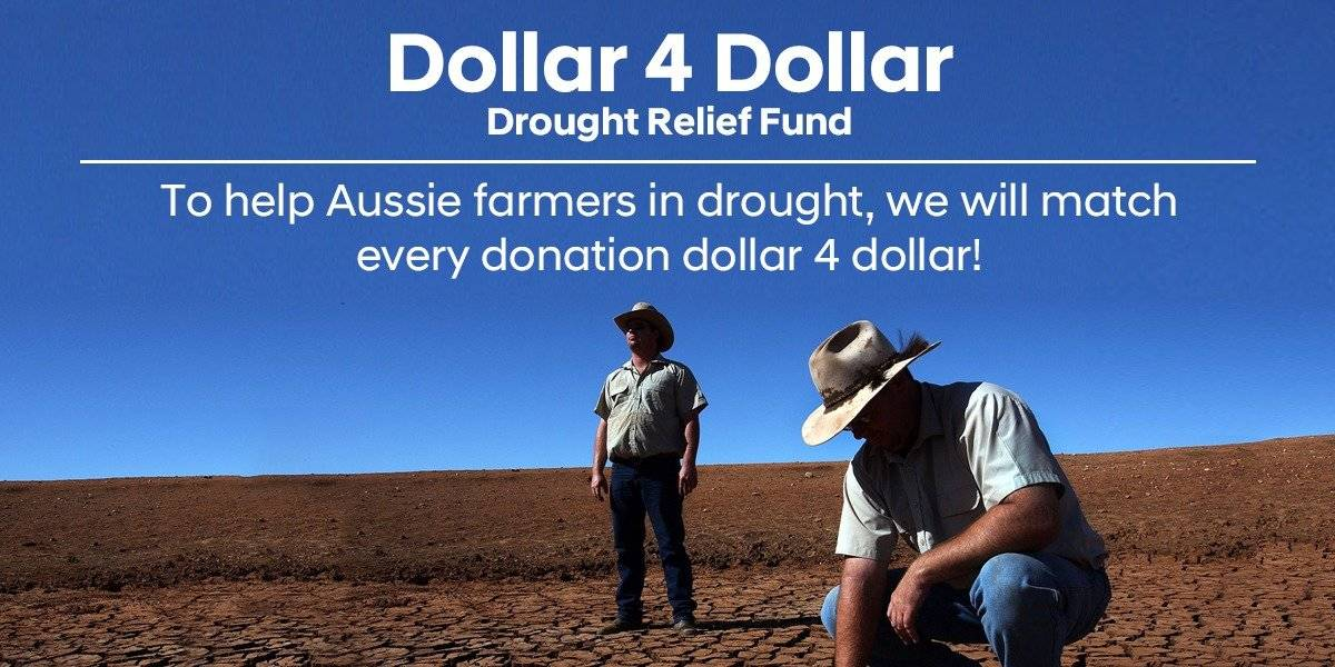 blog large image - Dollar 4 Dollar Drought Relief Fund