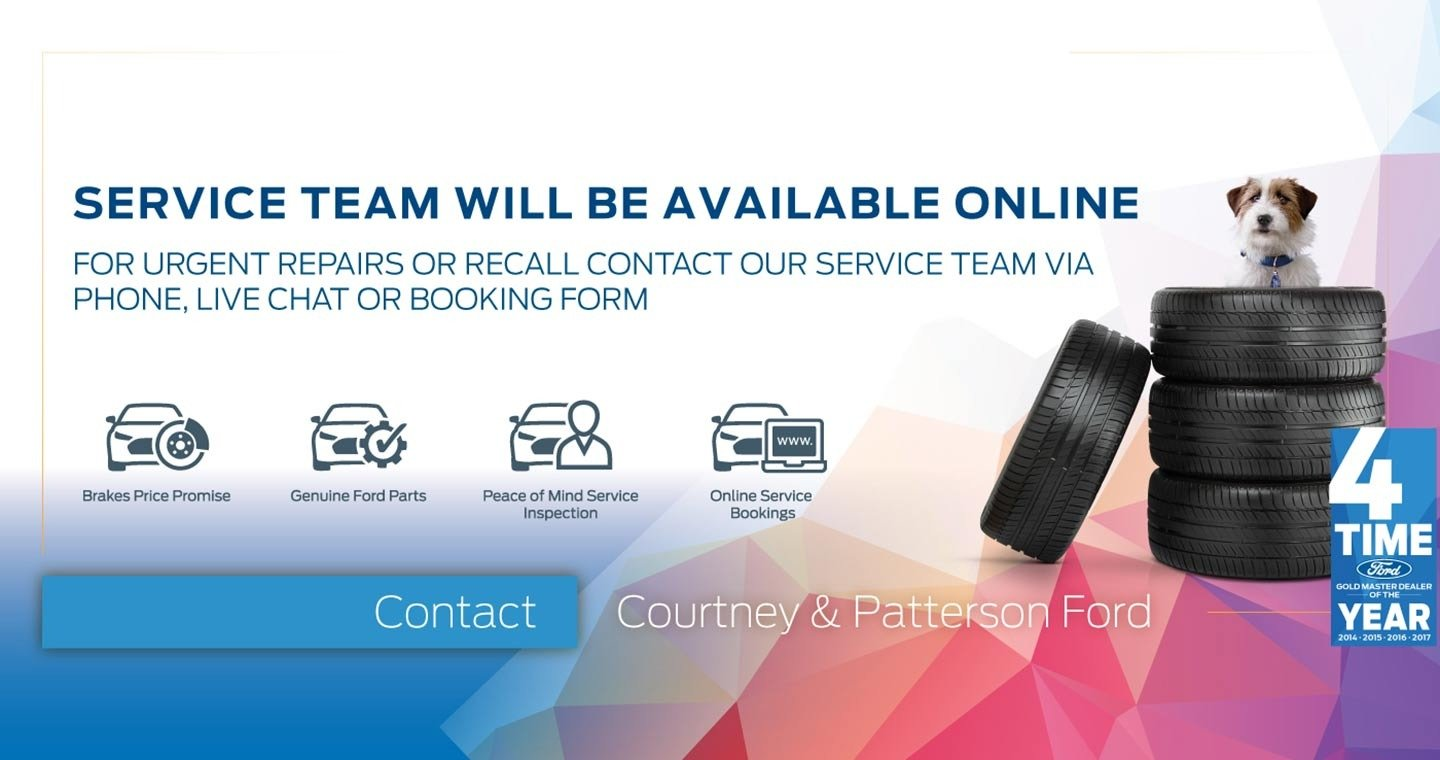 Service Team Will Be Available Online