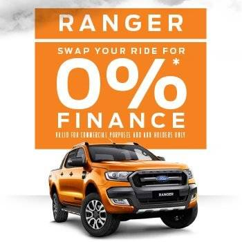 Ranger Swap Your Ride for 0%* Finance Small Image