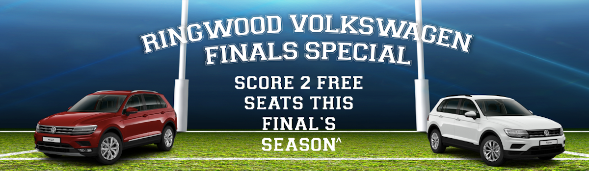 Tiguan Demo Madness - 2 Free Seats This Final's Season Large Image