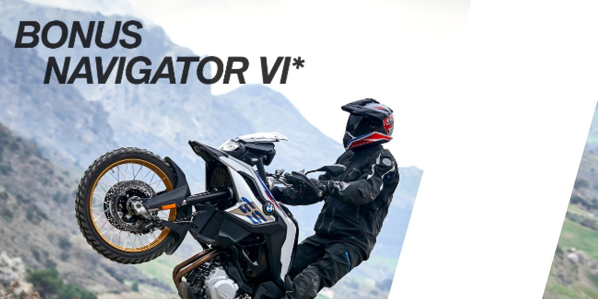 blog large image - BONUS BMW Motorrad Navigator IV worth $1,290!
