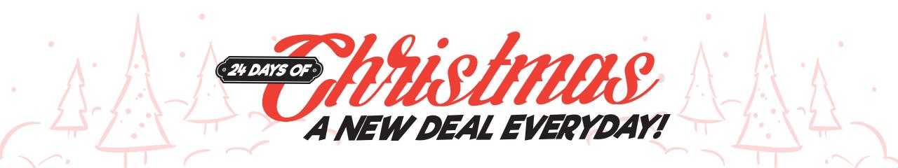 Brian Hilton 24 Days of Christmas Deals