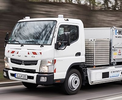 Electric Fuso Canter E-Cell Fleet image