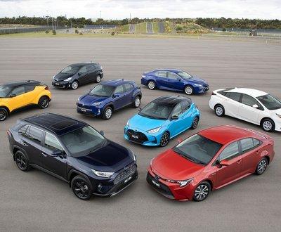 Toyota Hybrid Sales image