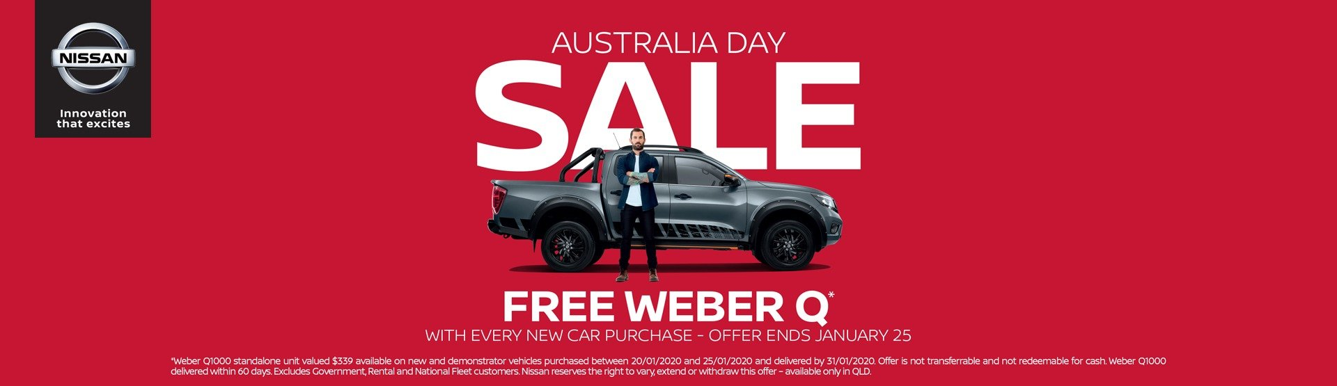 Australia Day Sale
