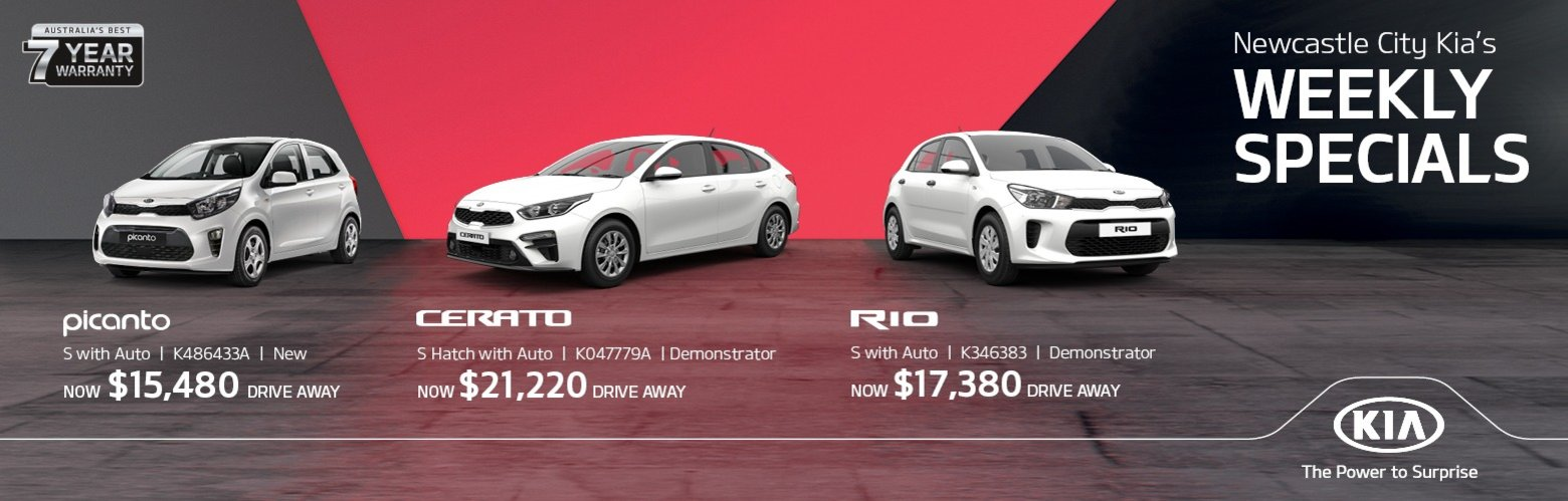Newcastle City Kia Weekly Specials