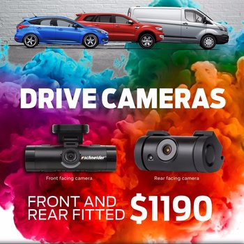 Exclusive Wignall Ford Customers Only -  Drive Camera and Schmick Special Small Image