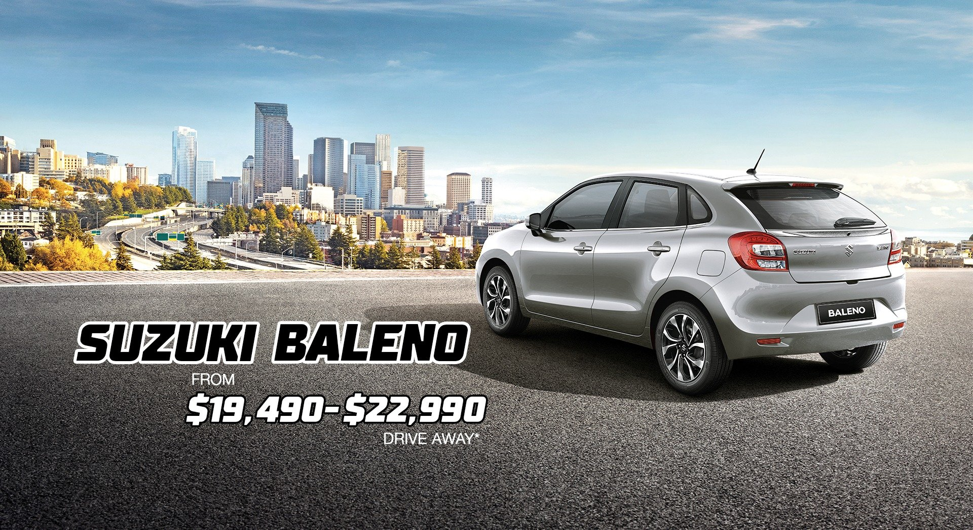 Suzuki Baleno for Sale Perth