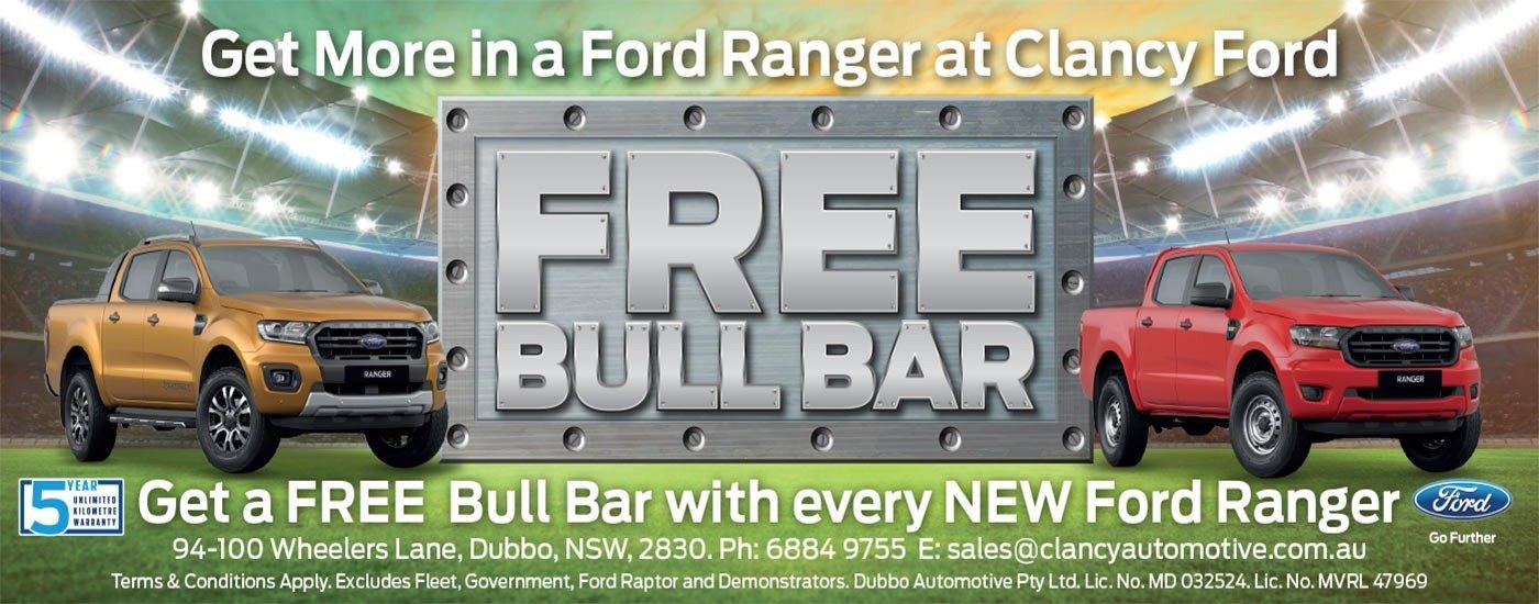 Free Bull Bar Special