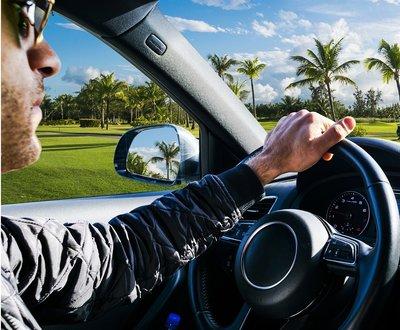 Man steering wheel image