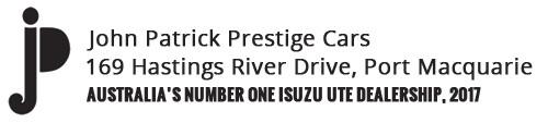 John Patrick Prestige Cars Logo