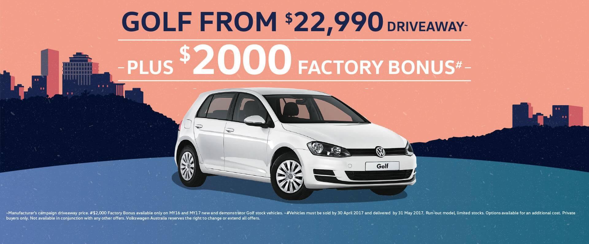 Pickerings VW Factory Bonus