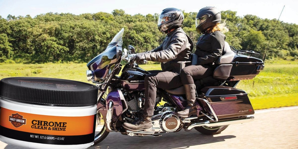 blog large image - How To Correctly Clean & Polish Chrome On Your Harley Davidson®