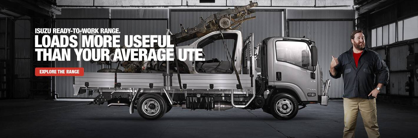 Isuzu Trucks Ready to Work