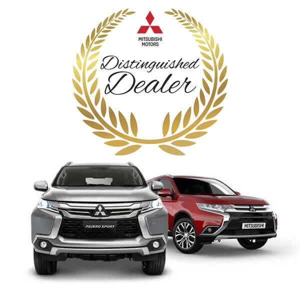Callaghan Mitsubishi Distinguished Dealer