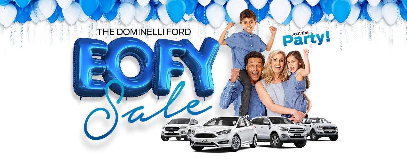 Dominelli Ford EOFY 17