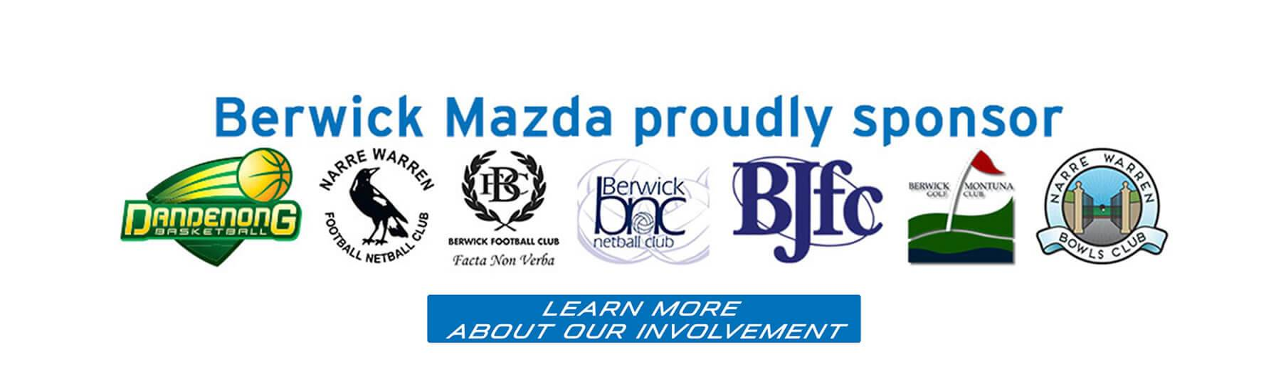 Berwick Mazda Sponsorship
