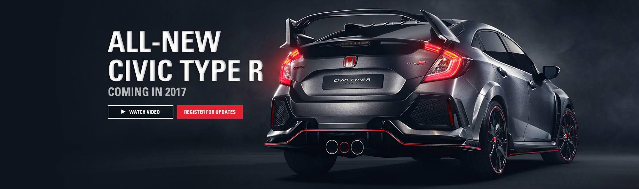 Honda Civic Type R - Coming Soon