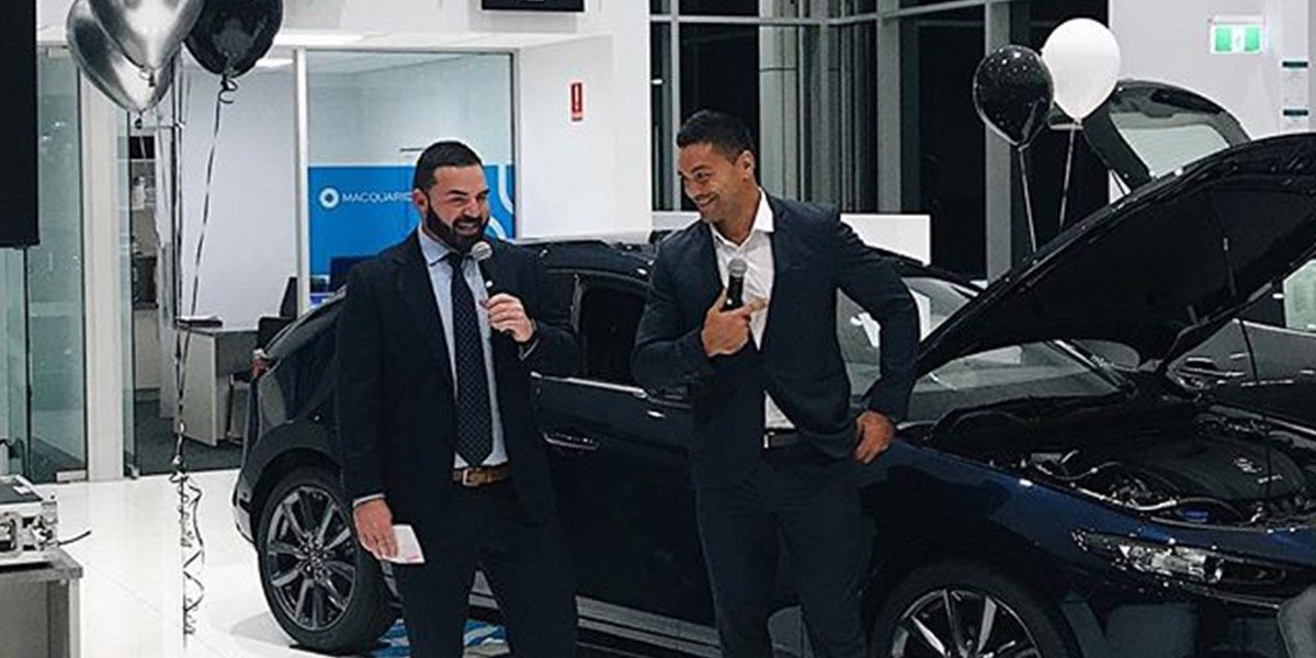blog large image - Guest Blog: Brisbane Broncos' Alex Glenn on the Next-Gen Mazda3 Launch