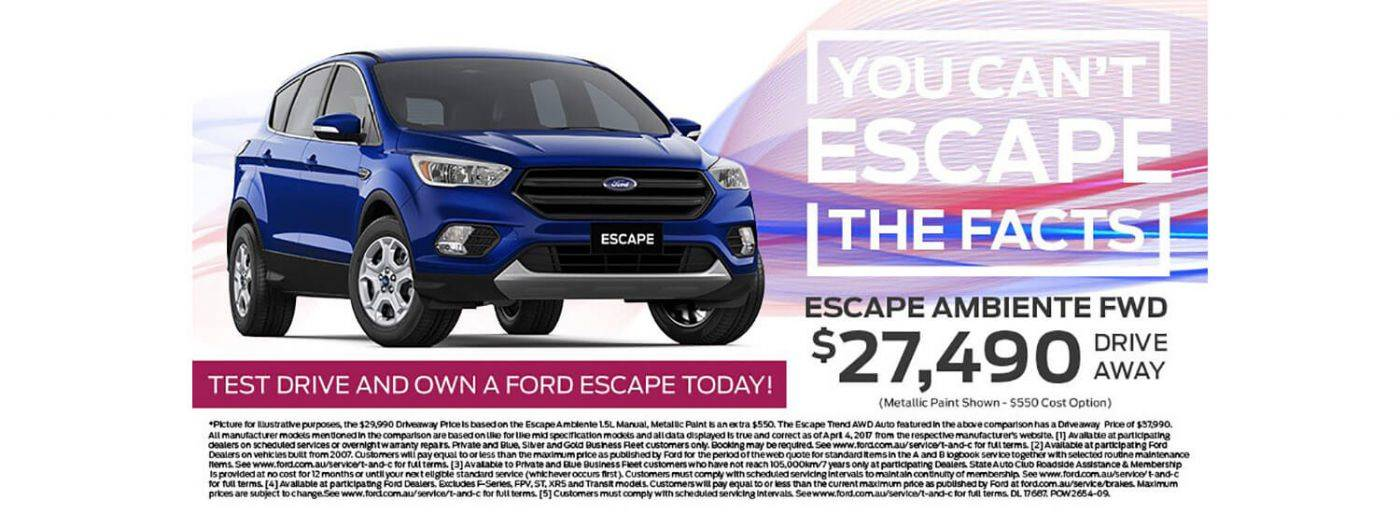 Power Ford Escape