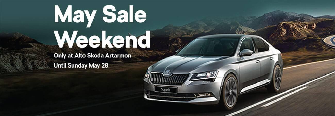 May Sale Weekend