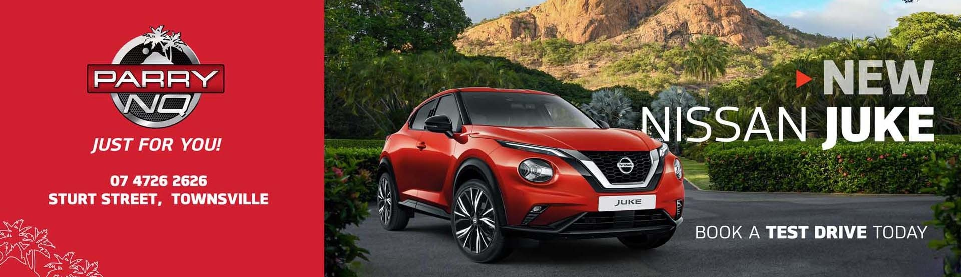 Parry NQ Nissan - New Juke has arrived