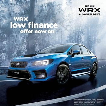 WRX low finance offer now on Small Image